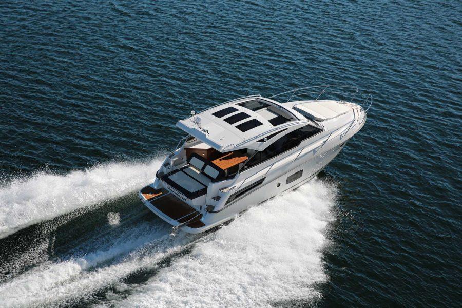 inshore yachts grandezza 33 OC Golfe juan cote d'azur