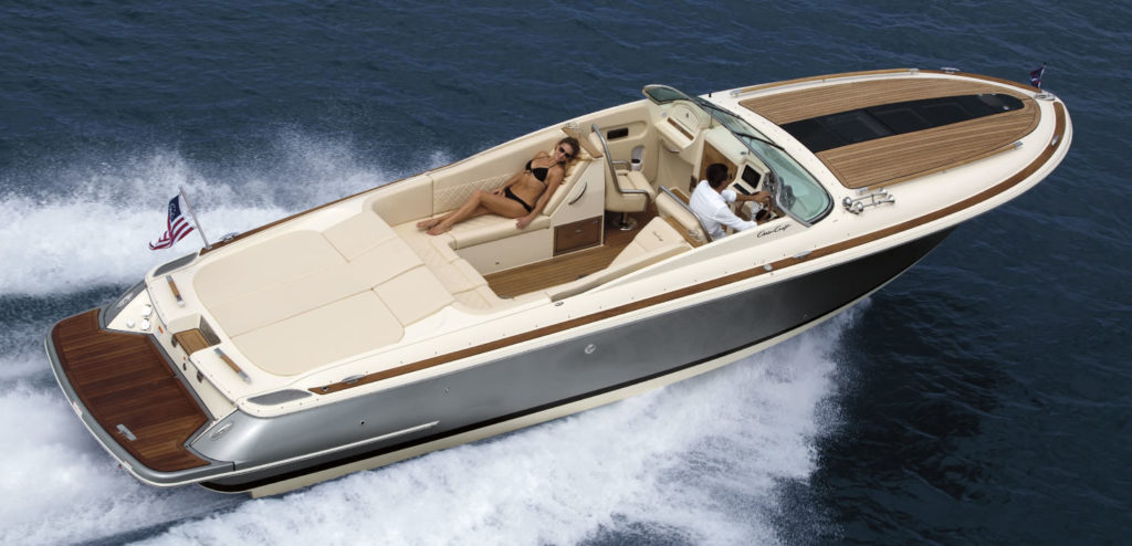 inshore yachts wholesaler chris craft corsair series golfe juan cote d'azur