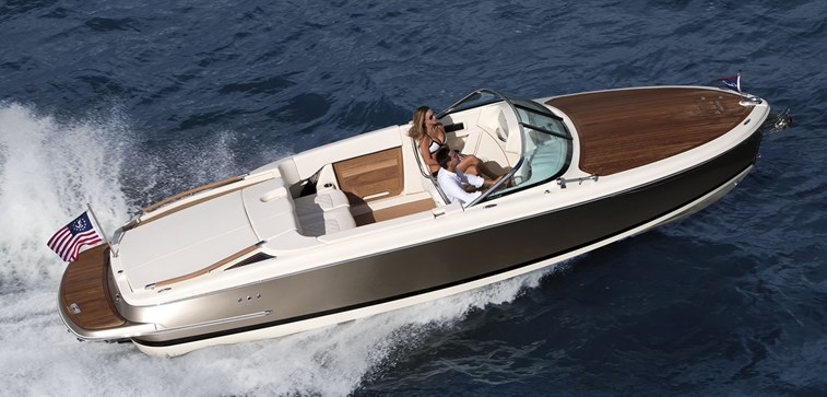 inshore yachts chris craft capri 27 golfe juan cote d'azur