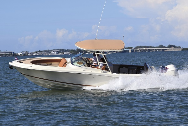 inshore yachts chris craft calypso 30 golfe juan côte d'azur