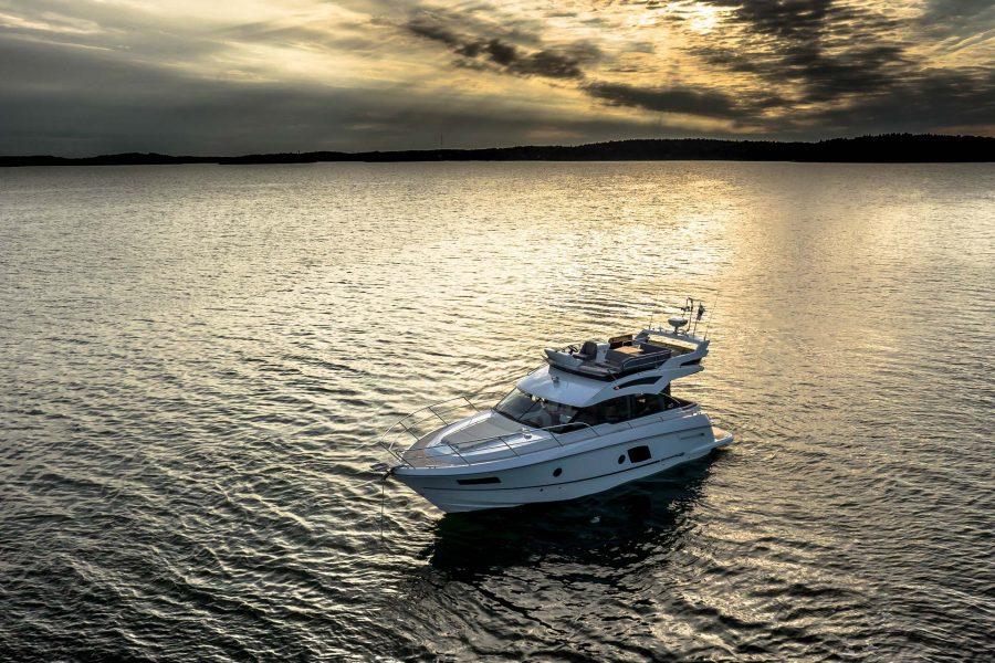 inshore yachts grandezza 40 fly golfe juan cote d'azur