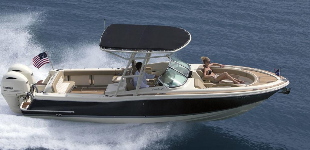 inshore yachts wholesaler chris craft calypso series golfe juan cote d'azur