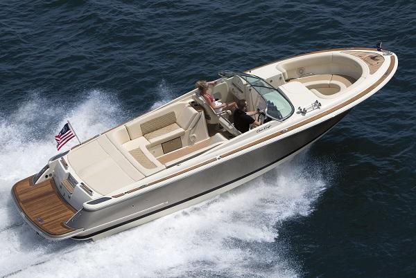 inshore yachts chris craft launch 30 golfe juan côte d'azur