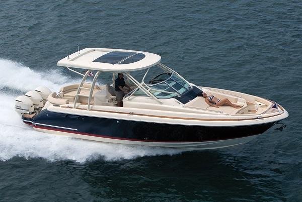 inshore yachts chris craft launch 38 golfe juan côte d'azur